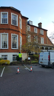 Gutter cleaning in cleared in Orpington BR6